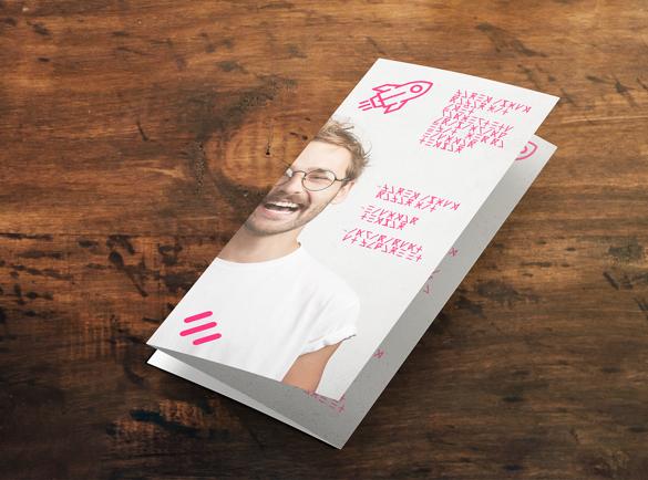 Folded leaflets   Cheap mass marketing methods   Helloprint