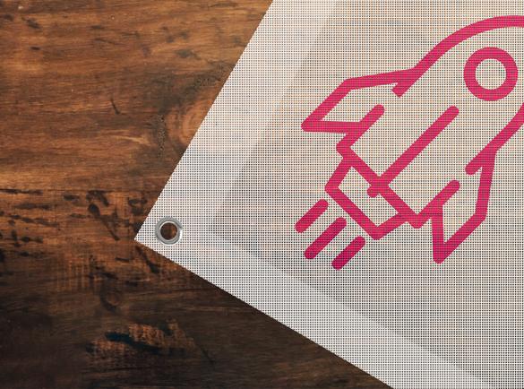 Banners, flags & signs   Cheap mass marketing methods   Helloprint