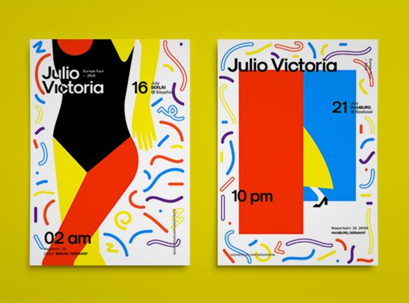 L'abstraction peut être la meilleure action | 8 Design de flyers pour s'inspirer
