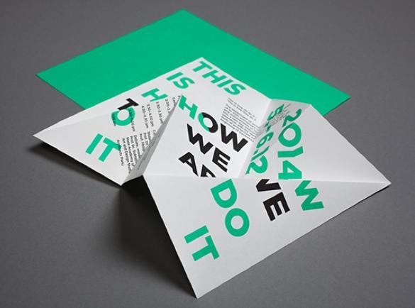 Une expérience de pliage | 8 Designs de flyers pour s'inspirer