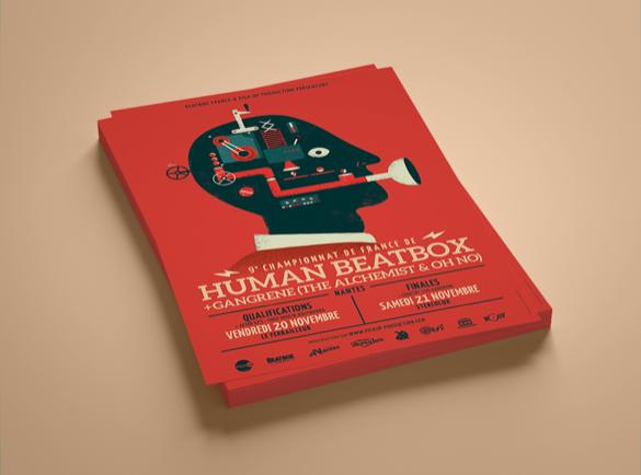 Vif et audacieux | 8 Designs de flyers pour s'inspirer