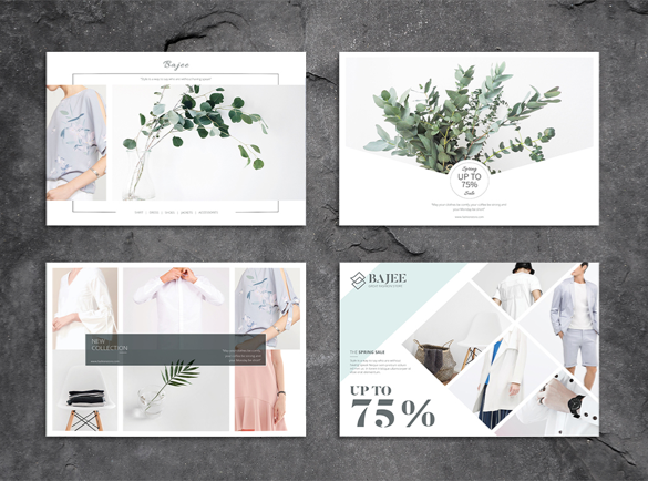 Classe et sobre | 8 Designs de flyers pour s'inspirer