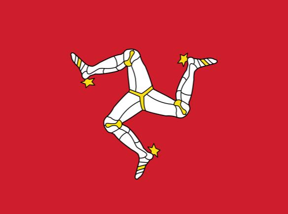 L'Île de Man | Quels pays ont les drapeaux les plus fous ?
