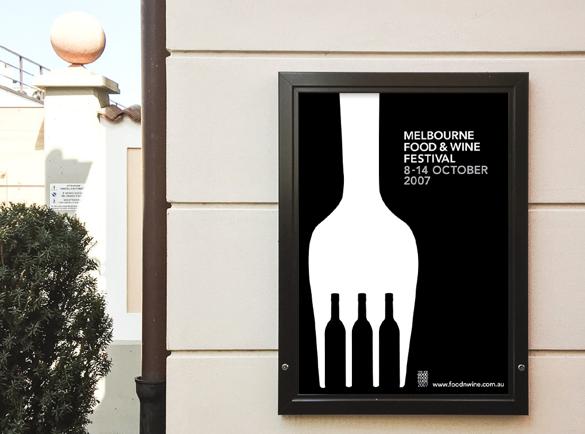 L'illusion du Noir et Blanc   5 Affiches au Design Détonnant