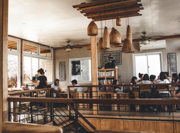 2. Une belle atmosphère   Devenir le restaurant le plus visité de la rue