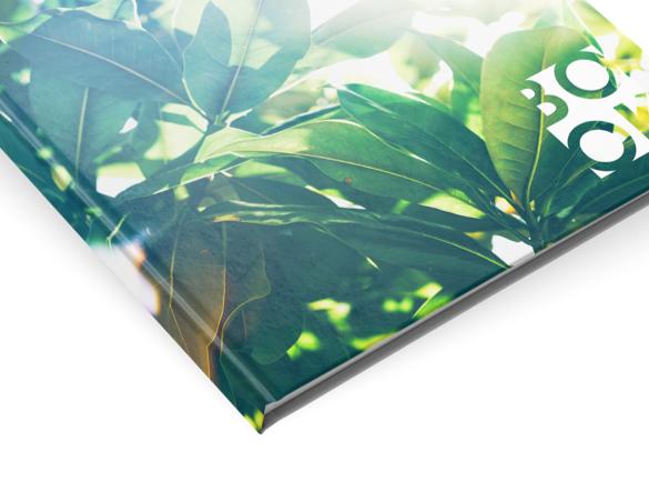 Les reliures pour votre brochure : Explication | Reliure à couverture rigide