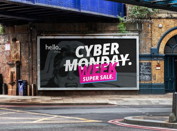 10 idées de campagnes Marketing pour le Cyber Monday | 10. Dernière chance