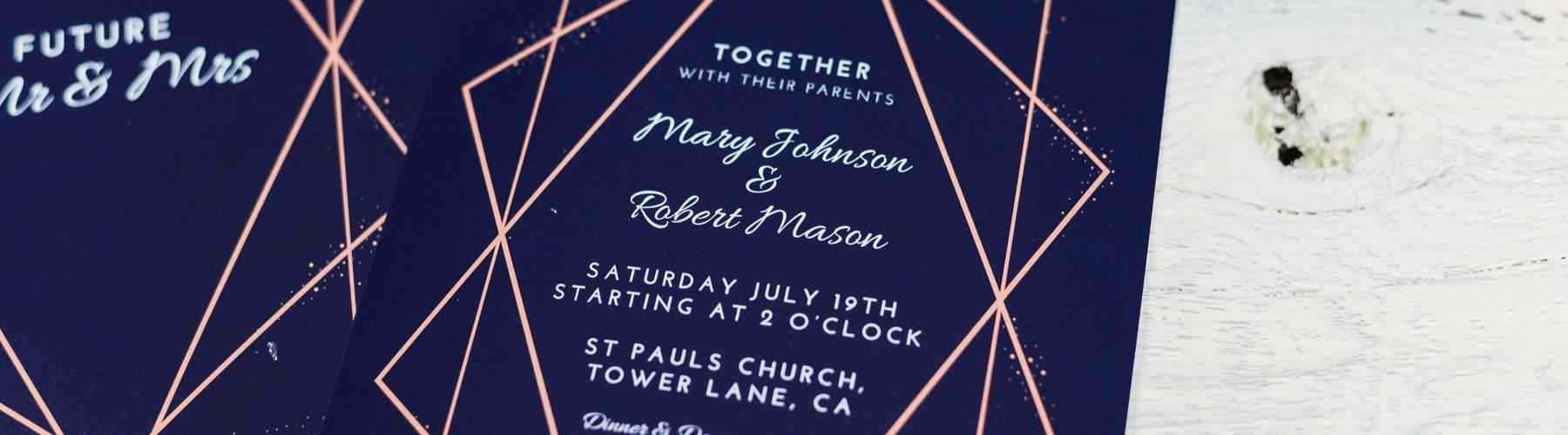 Un guide pour rédiger vos invitations de mariage