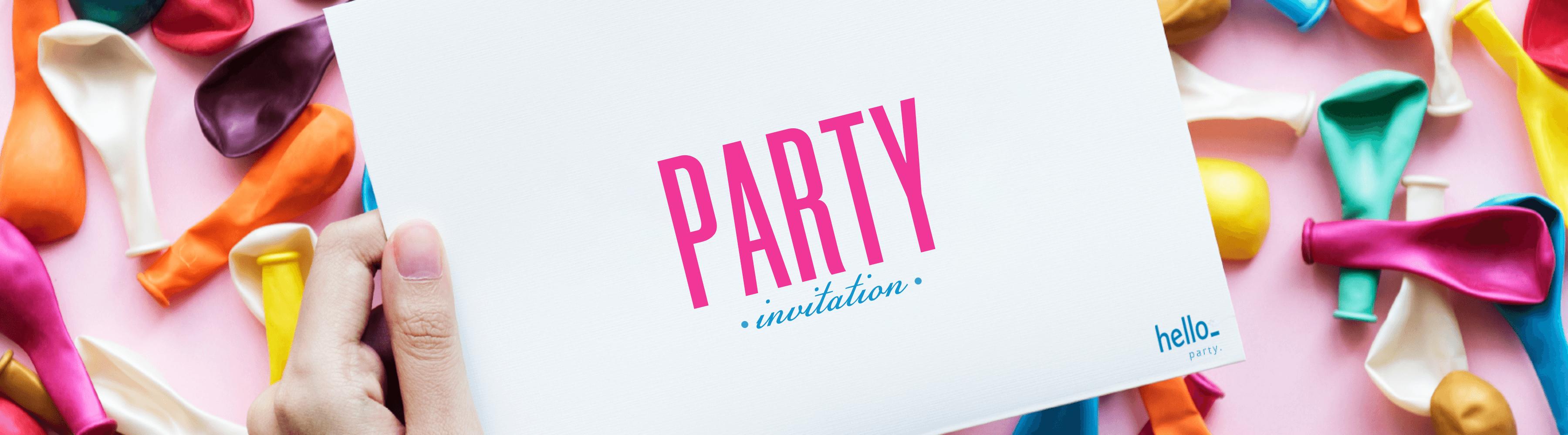Faire vos propres invitations : créez votre visuel en ligne gratuitement