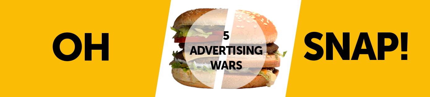 5 Rivalités publicitaires entre de grandes marques