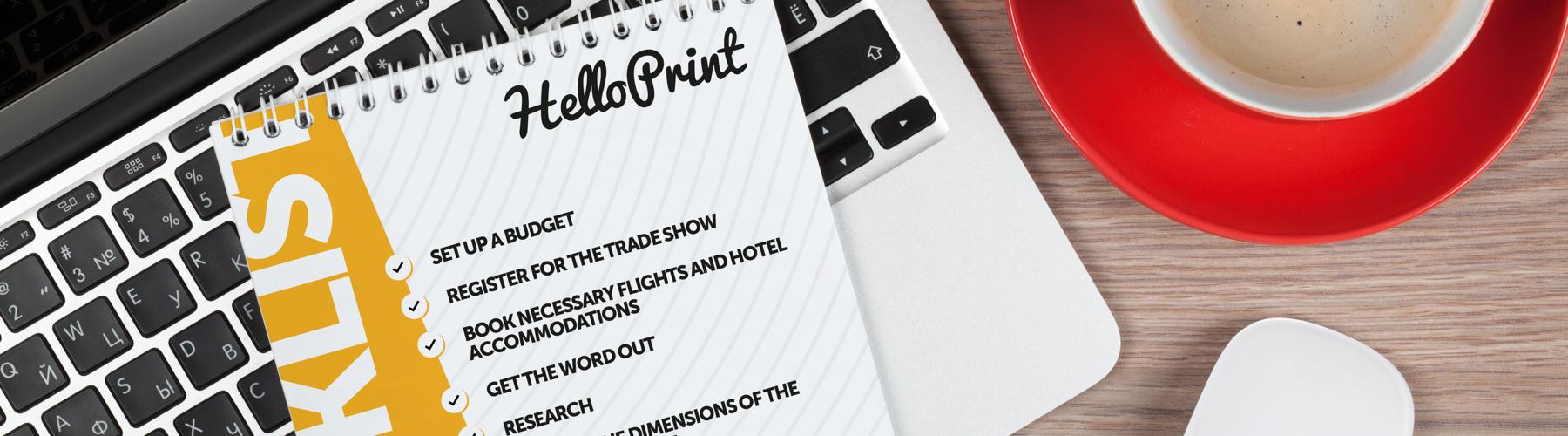 Salon professionnel : notre checklist