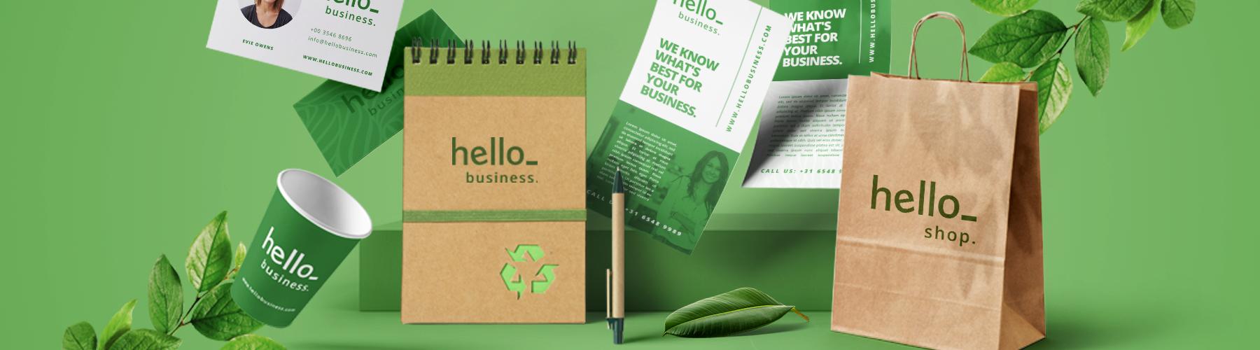 Top 10 des produits écologiques imprimés