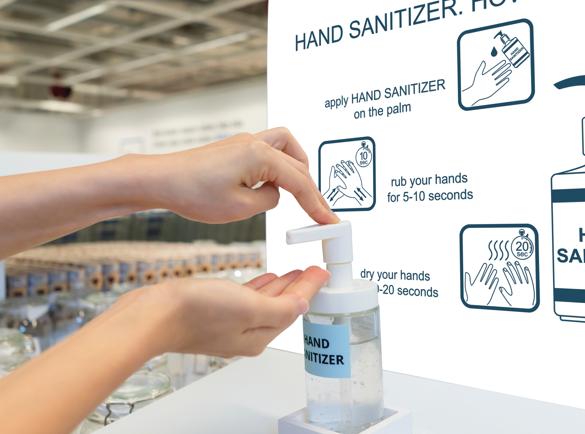 Désinfectants pour les mains : lequel est le meilleur ?